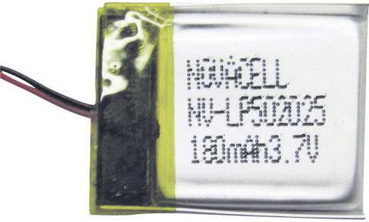 Micro-LiPo-Akku Sol Expert L180 3.7 V (max) (L x B x H) 20 x 25 x 5 mm