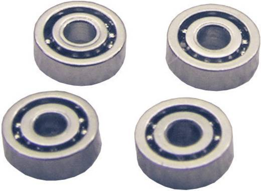 Stahl Micro-Kugellager K15 Geschlossen (Ø x H) 4 mm x 2 mm 4 St.