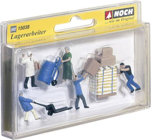 NOCH 15038 H0 Figuren Lagerarbeiter