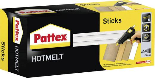 Pattex PTK1 Heißklebesticks 11 x 200 mm Transparent 11 mm 1000 g