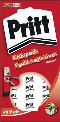 Klebepads Pritt PGP48 (L x B) 10 mm x 10 mm Inhalt: 48 St.