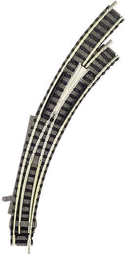 N Fleischmann piccolo (mit Bettung) 9169 Bogenweiche, rechts 45 ° 356.5 mm, 420 mm