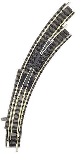 N Fleischmann piccolo (mit Bettung) 9175 Bogenweiche, rechts 45 ° 356.5 mm, 420 mm