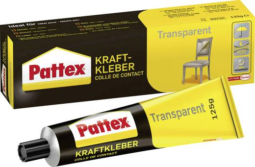 Pattex Transparent Kontaktkleber PXT2C 125 g
