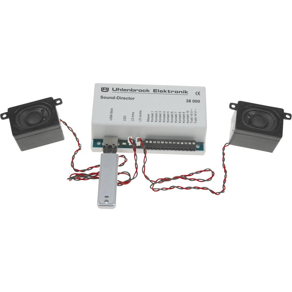 Uhlenbrock 38000 Sound-Direktor Egen inspelning Monteringsklar modul