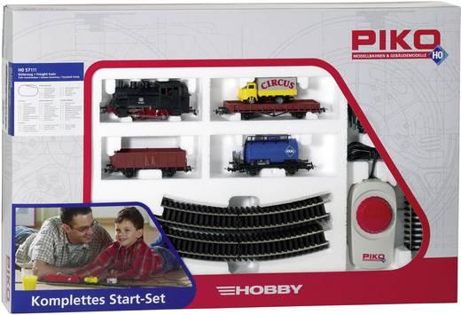 Piko H0 57111 H0 Hobby Start-Set Dampflok mit Güterzug