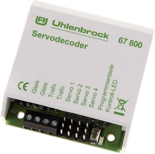 Uhlenbrock 67800 Servodecoder Baustein, ohne Kabel, ohne Stecker