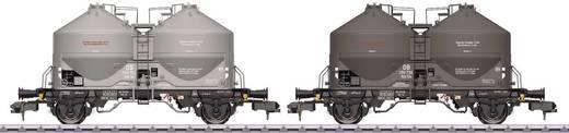Spur 1 2er-Set Staubsiliowagen KDS 54 der DB
