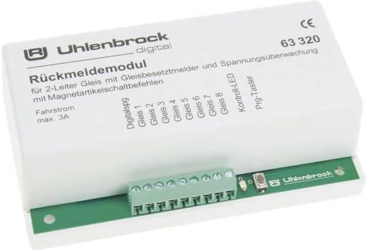 Rückmeldemodul Uhlenbrock 63320 für 2-Leiter Gleis