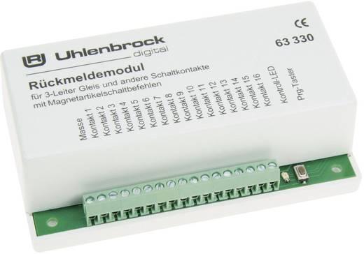 Rückmeldemodul Uhlenbrock 63330 für 3-Leiter Gleis