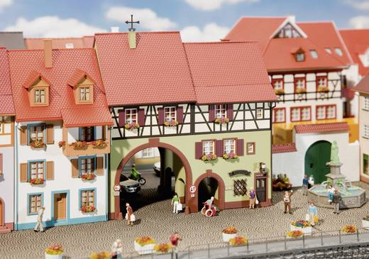 Faller 130499 H0 Stadthaus mit Tor