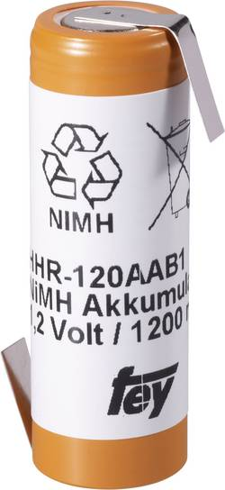 Akumulátor NiMH Panasonic, 1200 mAh