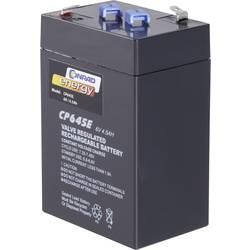 Bezúdržbové olovnaté akumulátory 6 V 4,5 Ah