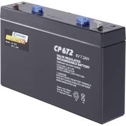 Olověný akumulátor, 6 V/7 Ah, Conrad energy