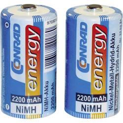 Image of Conrad energy HR14 Baby (C)-Akku NiMH 2200 mAh 1.2 V 2 St.