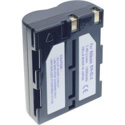 Náhradné batérie pre kamery Conrad Energy EN-EL3, 7,4 V, 1300 mAh