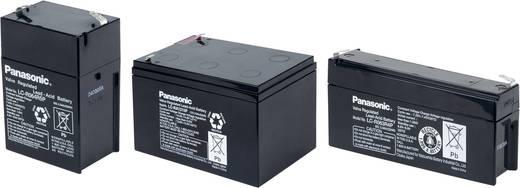 Bleiakku 12 V 12 Ah Panasonic 12 V 12 Ah LC-RA1212PG1 Blei-Vlies (AGM) (B x H x T) 151 x 94 x 98 mm Flachstecker 6.35 mm
