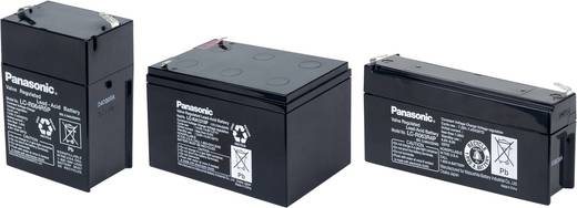 Panasonic 12 V 12 Ah LC-RA1212PG1 Bleiakku 12 V 12 Ah Blei-Vlies (AGM) (B x H x T) 151 x 94 x 98 mm Flachstecker 6.35 mm