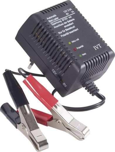 IVT Bleiakku-Ladegerät Steckerlader 6/12V 6 V, 12 V Blei-Säure, Blei-Gel, Blei-Vlies