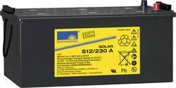 Solární akumulátor 12 V 230 Ah GNB Sonnenschein S12/230 A S12/230 A