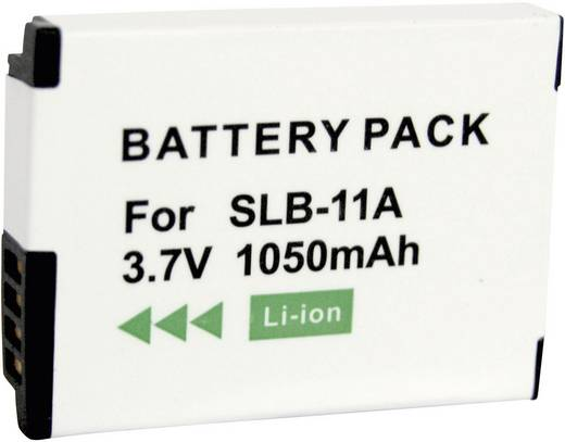 Kamera-Akku Conrad energy ersetzt Original-Akku SLB-11A 3.7 V 700 mAh 250446