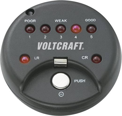 VOLTCRAFT Knopfzellentester VOLTCRAFT® Knopfzellentester LED Alkaline und Lithium Knopfzellen