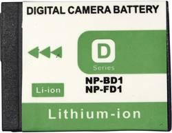 Batterie pour appareil photo Conrad energy 250487 3.6 V 650 mAh