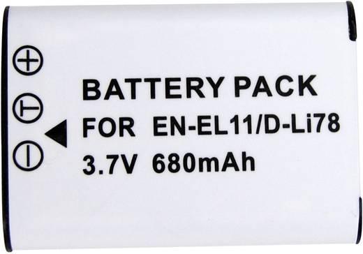 Kamera-Akku Conrad energy ersetzt Original-Akku EN-EL11 3.7 V 450 mAh 250491