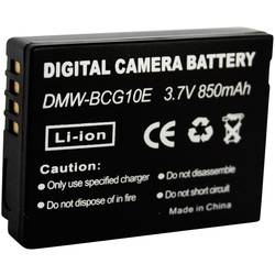 Náhradné batérie pre kamery Conrad Energy DMW-BCG10, 3,7 V, 700 mAh