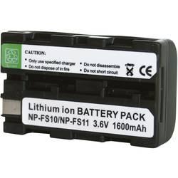 Li-Ion akumulátor pro videokameru SONY NP-FS11, 3,6 V, 1100 mAh, černá