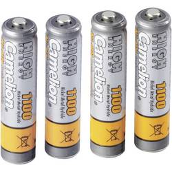 Mikrotužkový akumulátor typu AAA Ni-MH Camelion HR03 170713, 1100 mAh, 1.2 V, 4 ks