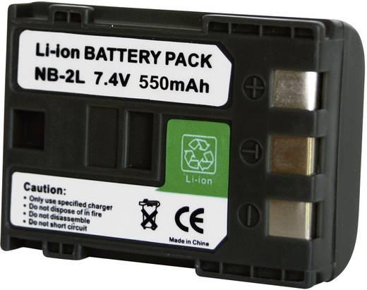 Kamera-Akku Conrad energy ersetzt Original-Akku NB-2L, NB-2LH 7.2 V 550 mAh