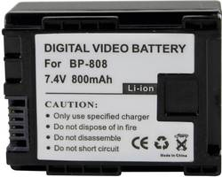 Náhradní baterie pro kamery Conrad Energy BP-808, 7,4 V, 700 mAh