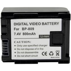 Akumulátor do kamery náhrada za orig. akumulátor BP-809, Conrad energy, 7.4 V, 700 mAh