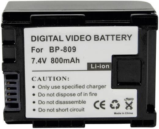 Kamera-Akku Conrad energy ersetzt Original-Akku BP-809 7.4 V 700 mAh