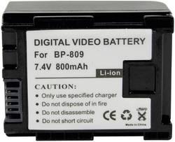 Náhradní baterie pro kamery Conrad Energy BP-809, 7,4 V, 700 mAh