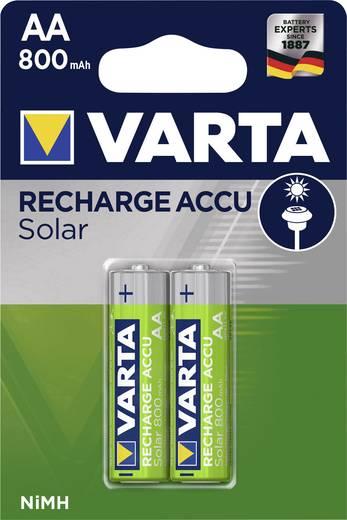 Mignon (AA)-Akku NiMH Varta Solar HR06 800 mAh 1.2 V 2 St.