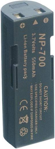 Kamera-Akku Conrad energy ersetzt Original-Akku NP-700 3.7 V 550 mAh
