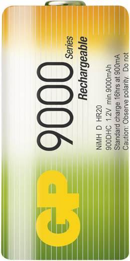 Mono (D)-Akku NiMH GP Batteries HR20 9000 mAh 1.2 V 1 St.