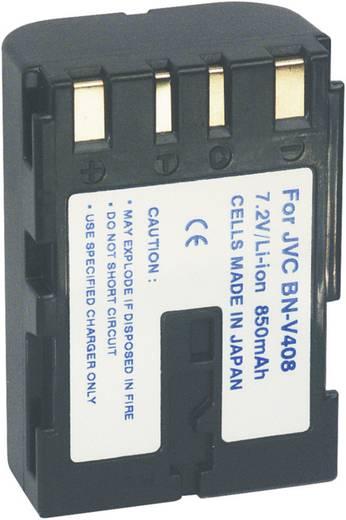 Kamera-Akku Conrad energy ersetzt Original-Akku BN-V408 7.2 V 1100 mAh 250737