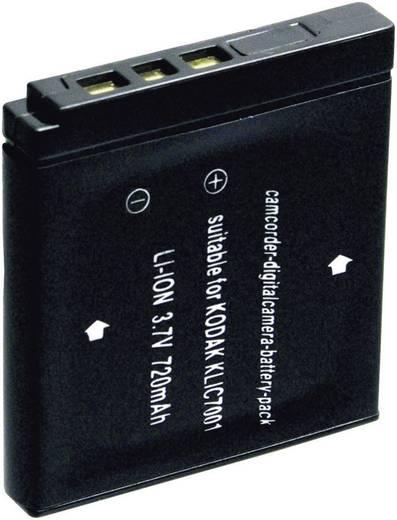 Kamera-Akku Conrad energy ersetzt Original-Akku KLIC-7001 3.7 V 600 mAh 250764