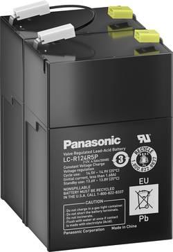 Olovený akumulátor Panasonic 12 V 4,5 Ah LC-R124R5PD, 4.5 Ah, 12 V