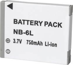 Náhradní baterie pro kamery Conrad Energy NB-6L, 3,7 V, 600 mAh
