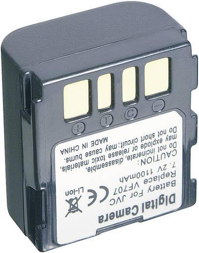Kamera-Akku Conrad energy ersetzt Original-Akku BN-VF707 7.2 V 700 mAh