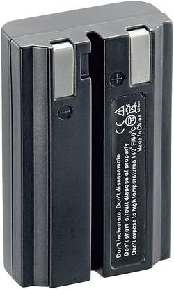 Li-Ion akumulátor pro videokameru NIKON EN-EL1, 7,4 V, 600 mAh, černá