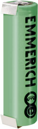 Emmerich ULT-18650-FP-ULF Spezial-Akku 18650 U-Lötfahne LiFePO 4 3.3 V 1250 mAh