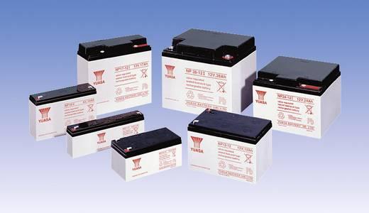 Yuasa NP12-6 NP12-6 Bleiakku 6 V 12 Ah Blei-Vlies (AGM) (B x H x T) 151 x 98 x 50 mm Flachstecker 6.35 mm Wartungsfrei,