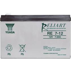 Olovený akumulátor Yuasa RE7-12 RE7-12, 7 Ah, 12 V