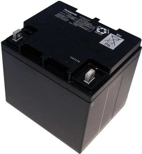 Bleiakku 12 V 38 Ah Panasonic 12 V 38 Ah LC-XC1238P Blei-Vlies (AGM) (B x H x T) 197 x 175 x 165 mm M6-Schraubanschluss Wartungsfrei, Zyklenfest