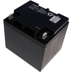 Olověný akumulátor, 12 V/38 Ah, Panasonic LC-XC1238P